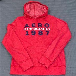 Aeropostale hooded sweater-Men's